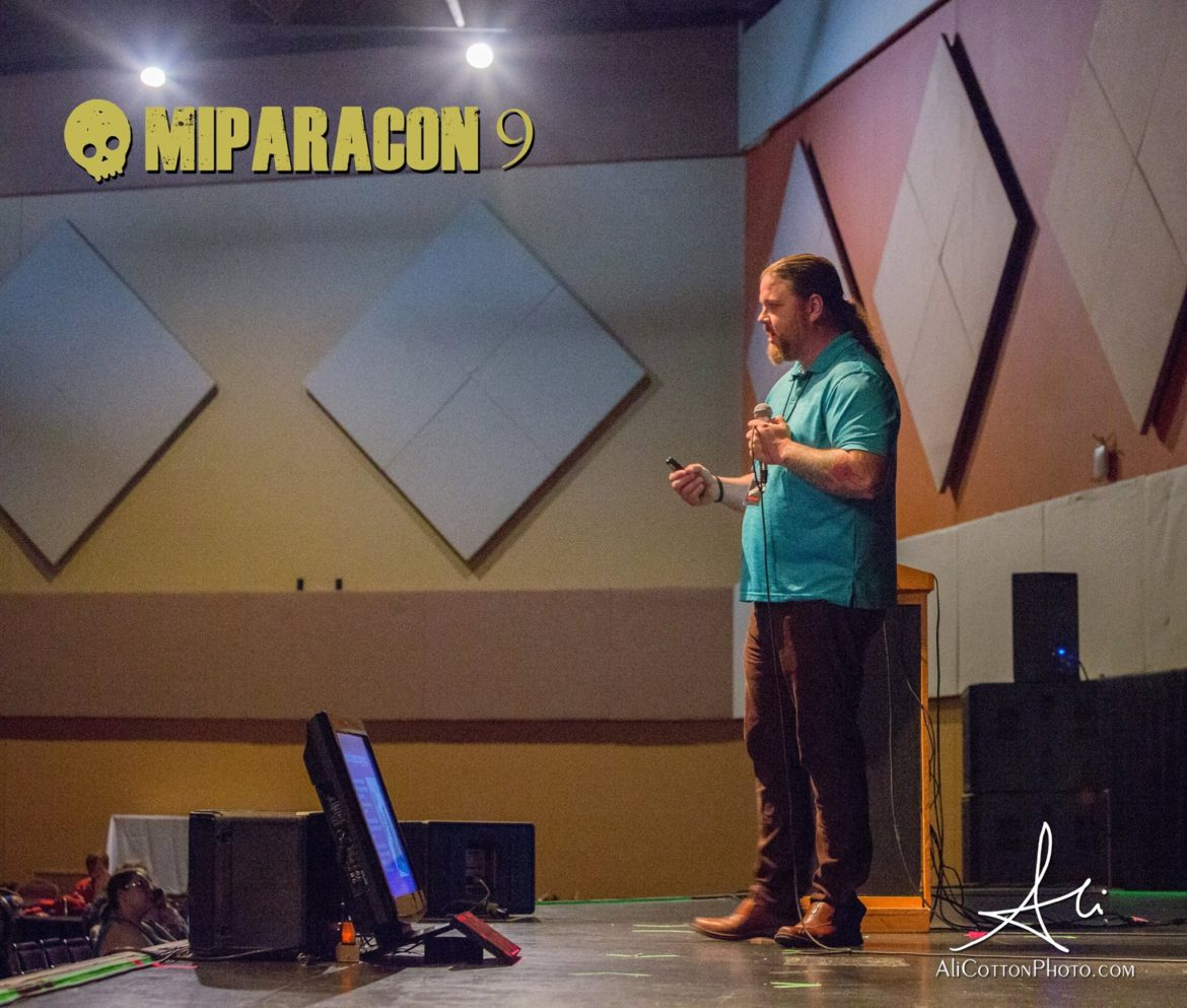 Tim Woolworth Presenting at MI Paracon IX